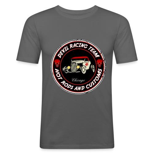 Devil racing team 01 - Men's Slim Fit T-Shirt