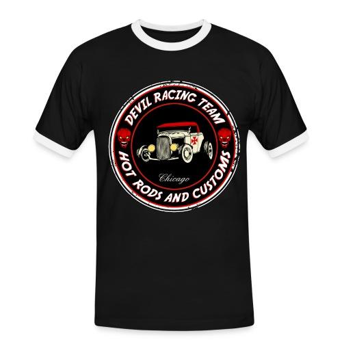 Devil racing team 01 - Men's Ringer Shirt