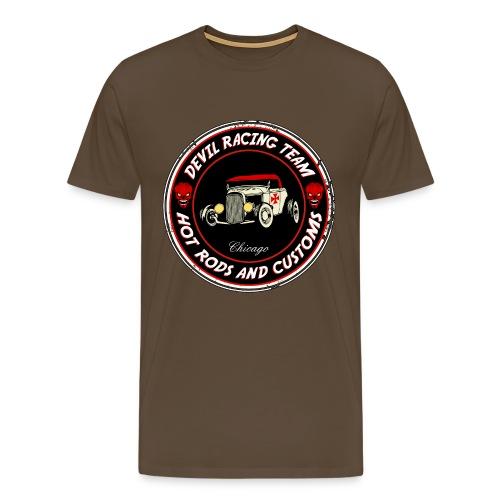 Devil racing team 01 - Men's Premium T-Shirt