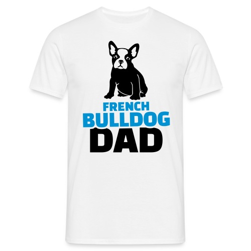 Frenchie Dad - Männer T-Shirt