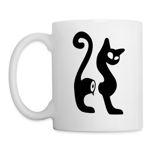 le mug cutcat - Mug blanc