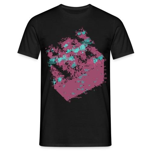 Shirt Cube Glitch (H) - T-shirt Homme