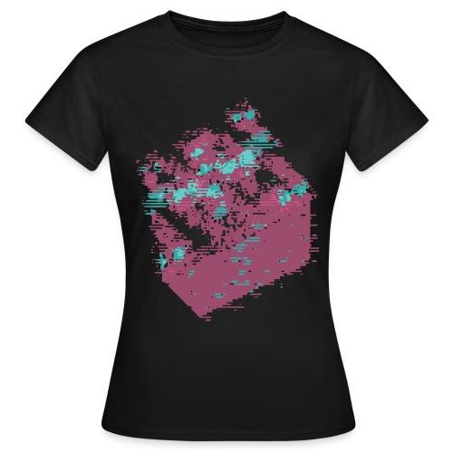 Shirt Cube Glitch (F) - T-shirt Femme