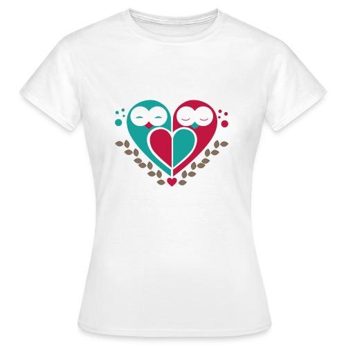 Eulen - Frauen T-Shirt