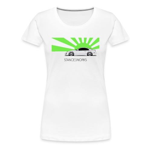 SW - Nissan 300zx - Frauen Premium T-Shirt