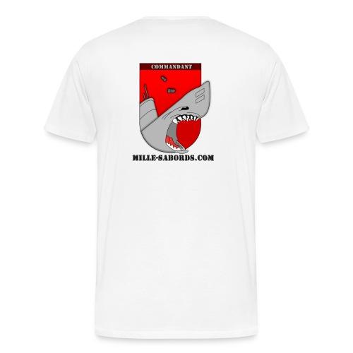 T shirt recto verso - T-shirt Premium Homme