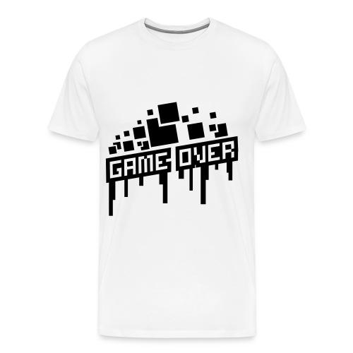Game Over shirt! - Mannen Premium T-shirt