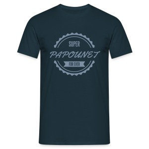 super_papounet_for_ever Tee shirts - T-shirt Homme