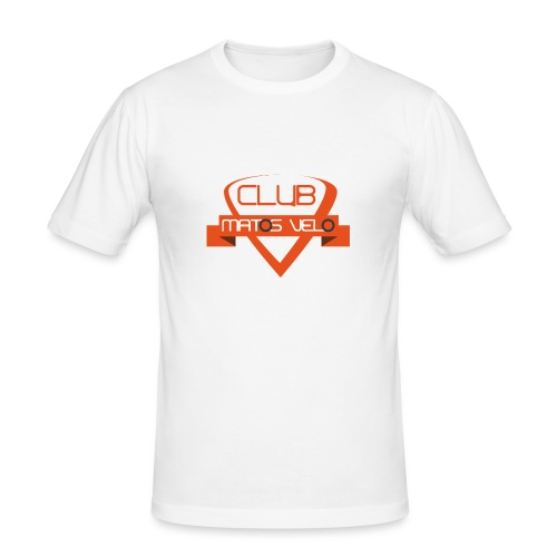 T-shirt club MV orange - Tee shirt près du corps Homme
