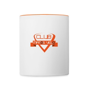 Tasse club MV bicolore orange - Tasse bicolore