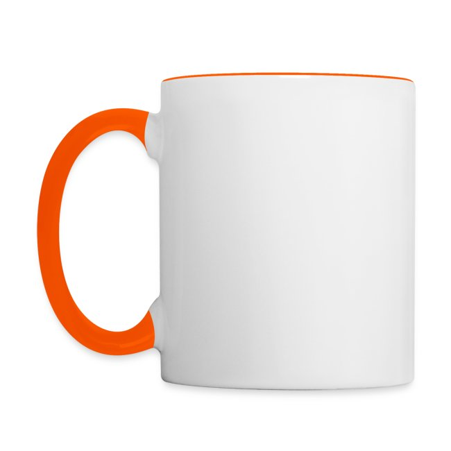 Tasse club MV bicolore orange