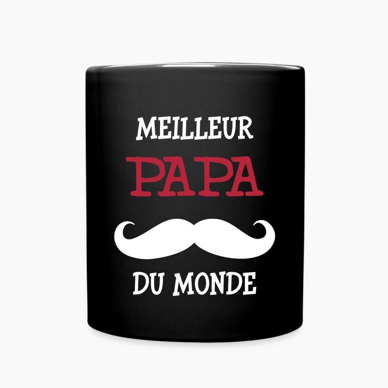 Tasse meilleur papa du monde spreadshirt - Tasse fete des peres ...