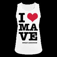 Urheiluvaatetus ~ Naisten tekninen tankkitoppi ~ I Love Mave