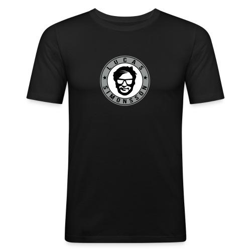 ★ Lucas logo - Slim Fit T-shirt herr