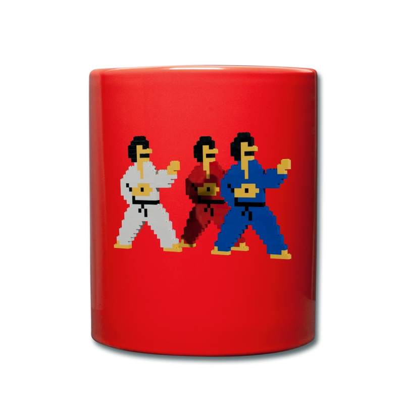 8-bit trip ninjas  1  - Full Colour Mug