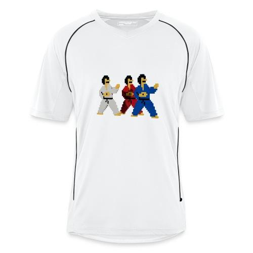 8-bit trip ninjas  1  - Men's Football Jersey