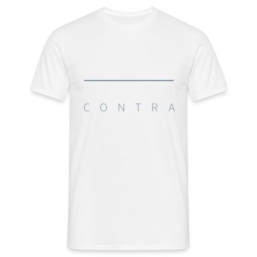 contra (md) - Männer T-Shirt