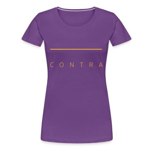 contra (md) - Frauen Premium T-Shirt