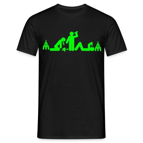 Saufgelage (md) - Männer T-Shirt