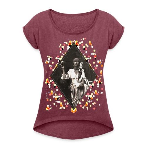Susie - T-shirt à manches retroussées Femme