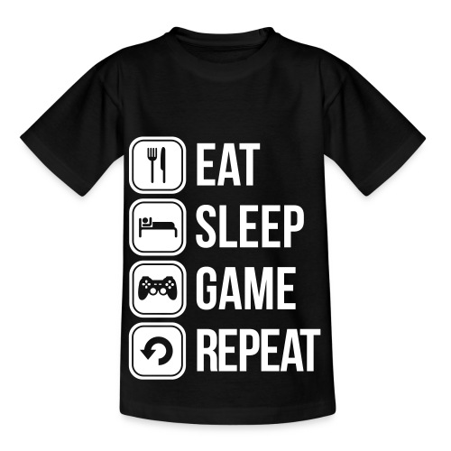 Gamer-Shirt - Teenager T-Shirt