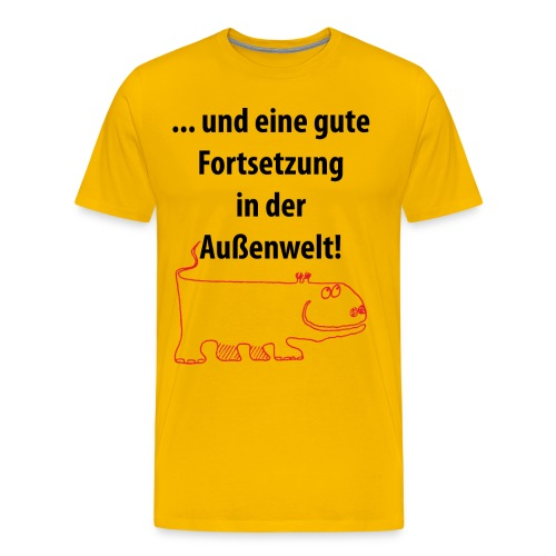 T-Shirt Außenwelt - Männer Premium T-Shirt