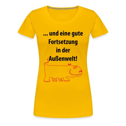 T-Shirt Außenwelt - Frauen Premium T-Shirt