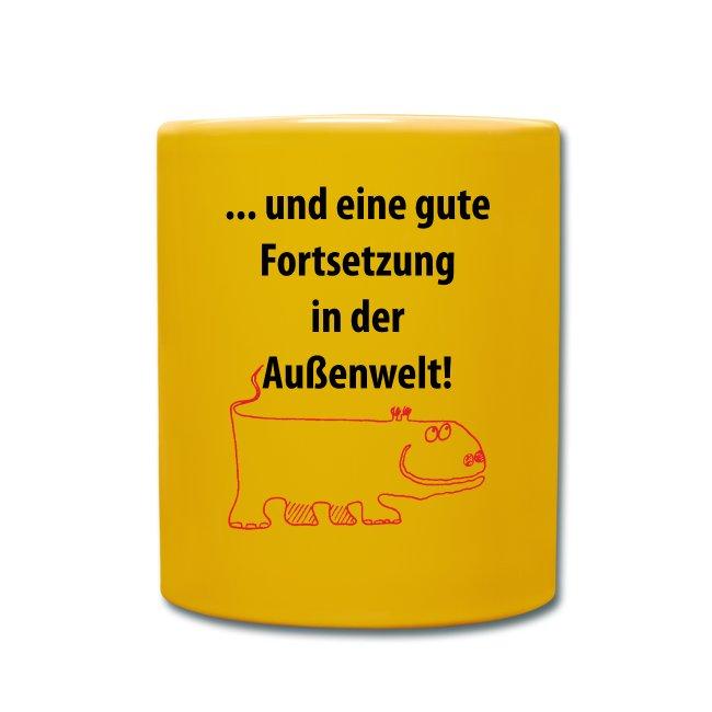 """Becher """"Außenwelt"""""""