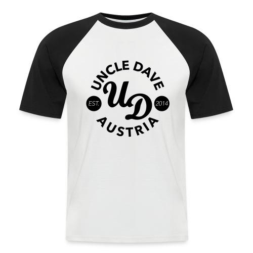 Dave Baseball Men flock - Männer Baseball-T-Shirt