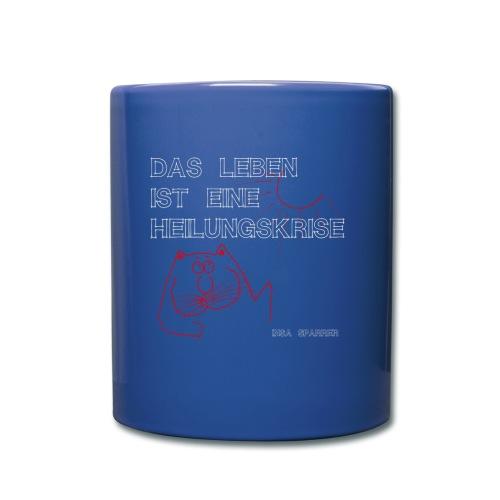 Becher Heilungskrise - Tasse einfarbig