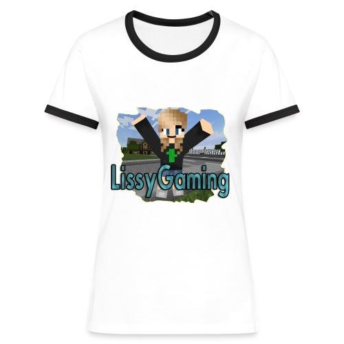 LissyGaming MC (für Frauen) - Frauen Kontrast-T-Shirt