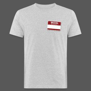 Moin. - Männer Bio-T-Shirt