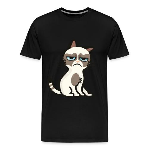 Cat Ass Black - Men's Premium T-Shirt
