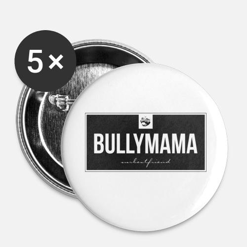 Bullymama - Buttons mittel 32 mm - Buttons mittel 32 mm (5er Pack)