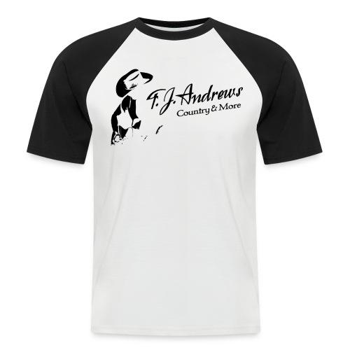 Baseball-Shirt Männer T.J. Andrews - Männer Baseball-T-Shirt