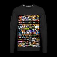 Långärmade T-shirts ~ Långärmad premium-T-shirt herr ~ Malvin ThumbnailZ