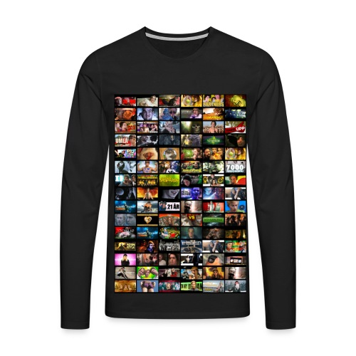 Malvin ThumbnailZ - Långärmad premium-T-shirt herr