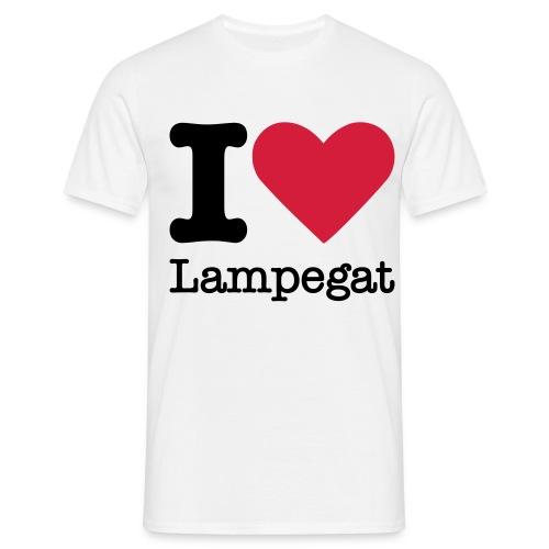 i love lampegat - Mannen T-shirt