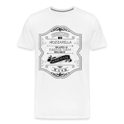 Parma Ham Men's Shirt - Men's Premium T-Shirt