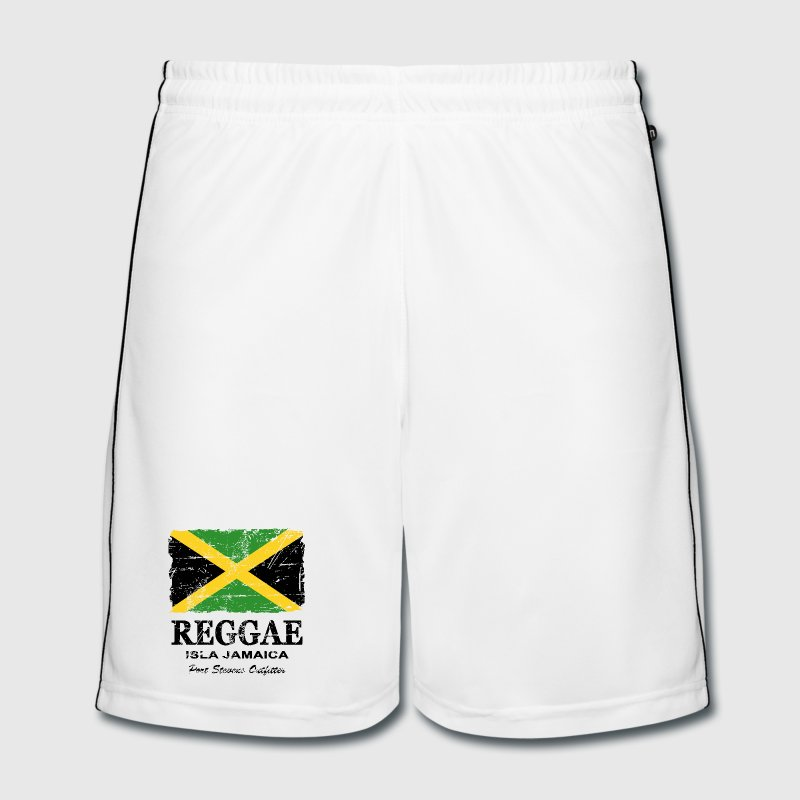 Jamaica - Reggae - Vintage Look  Trousers & Shorts - Men's Football shorts