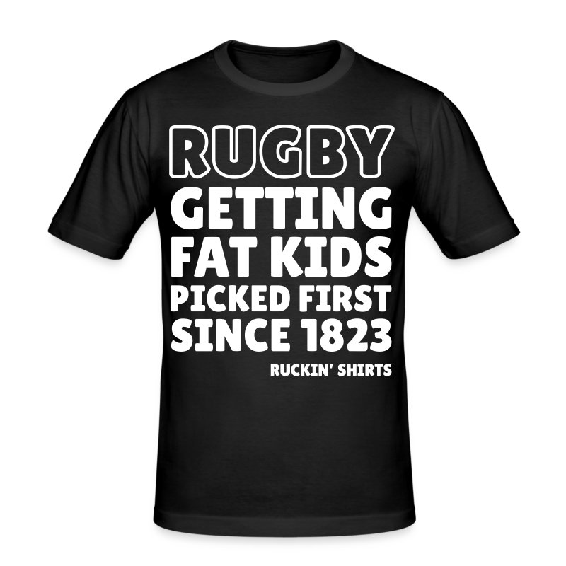 Fat Kids - Men's Slim Fit T-Shirt