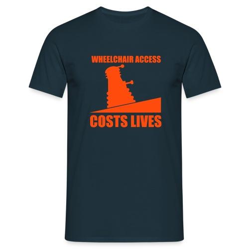 Wheelchair Ramp - Men's T-Shirt