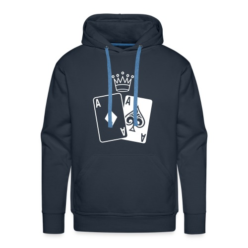 Sweater capouchon - KING OF CARDS - Mannen Premium hoodie