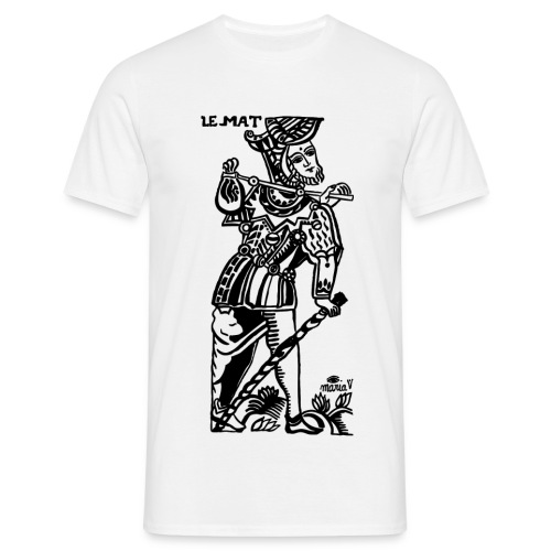 LE MAT by Maria Vermard (THE HOLY FOOL) - Men's T-Shirt