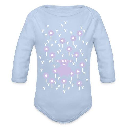 Baby Body Lamm - Organic Longsleeve Baby Bodysuit