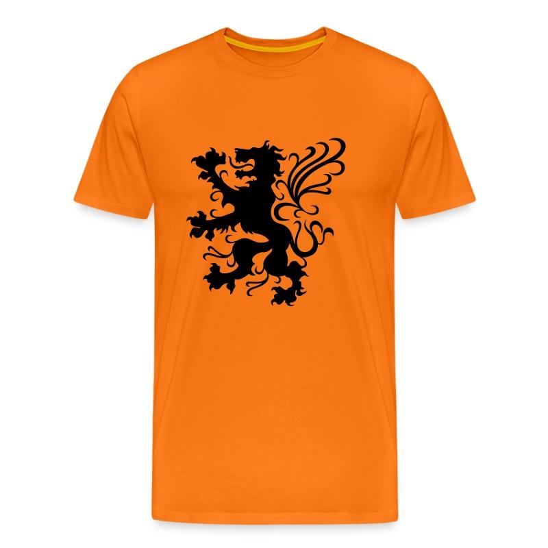 oranje tshirt - Mannen Premium T-shirt
