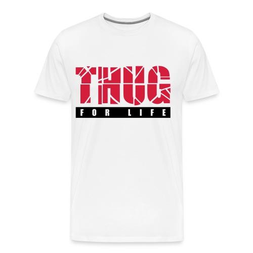 T-shirt - Thug for life - Premium-T-shirt herr