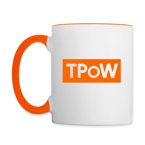TPoW Ceramic Mug - Contrasting Mug