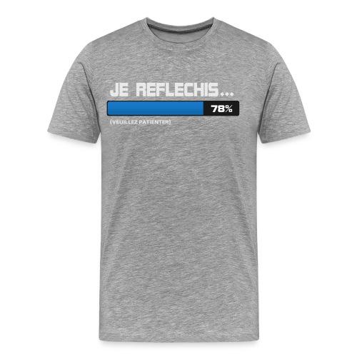 Koszulka męska Premium - Just Be... - Koszulka męska Premium