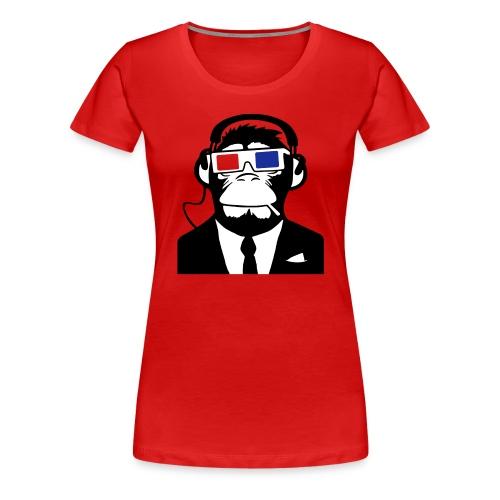 Koszulka damska - Crazy Monkey - Koszulka damska Premium